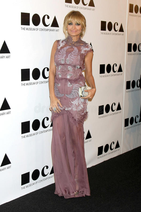Download Nicole Richie editorial photography. Image of gala, arrives - 22326002