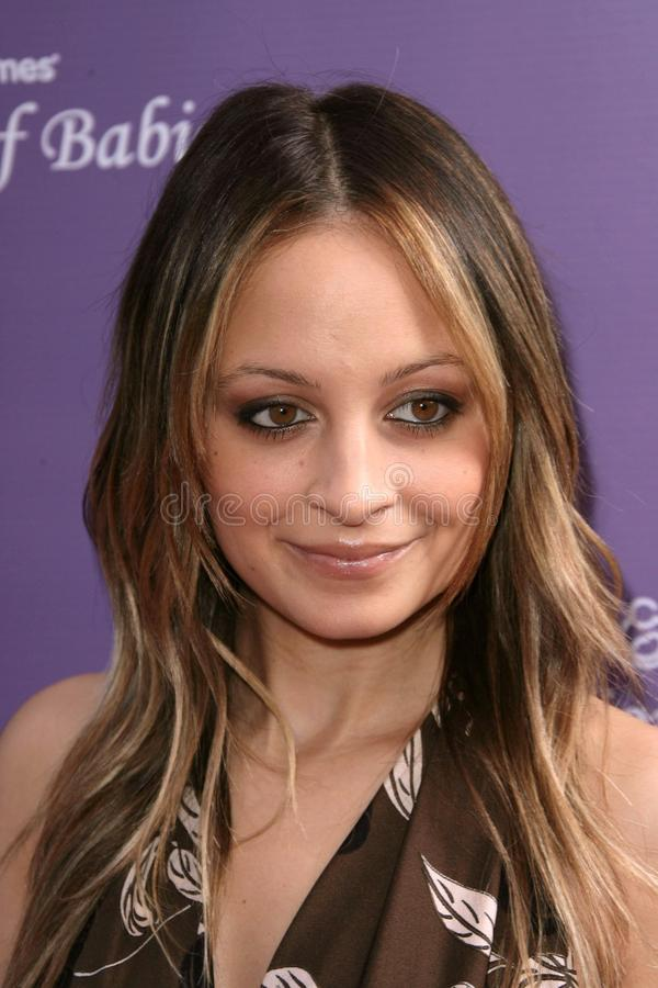 Download Nicole Richie editorial stock photo. Image of richie - 25585918