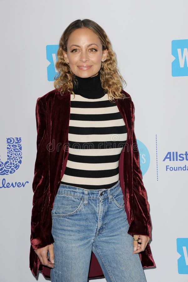 Nicole Richie. At the 2018 WE Day California held at the Forum in Inglewood, USA on April 19, 2018 royalty free stock photography