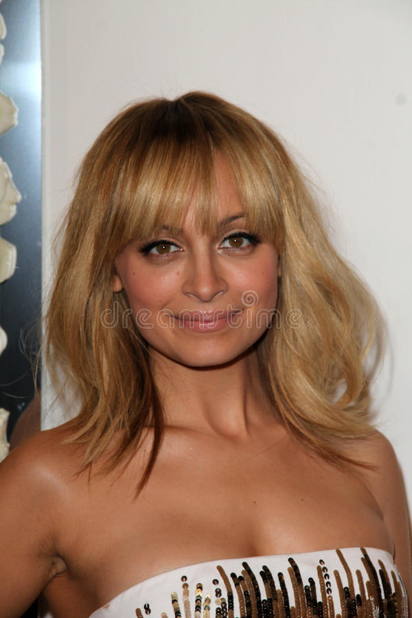 Nicole Richie, Four Seasons. Nicole Richie at the QVC Red Carpet Style Event, Four Seasons Hotel, Los Angeles, CA 02-23-12 stock images