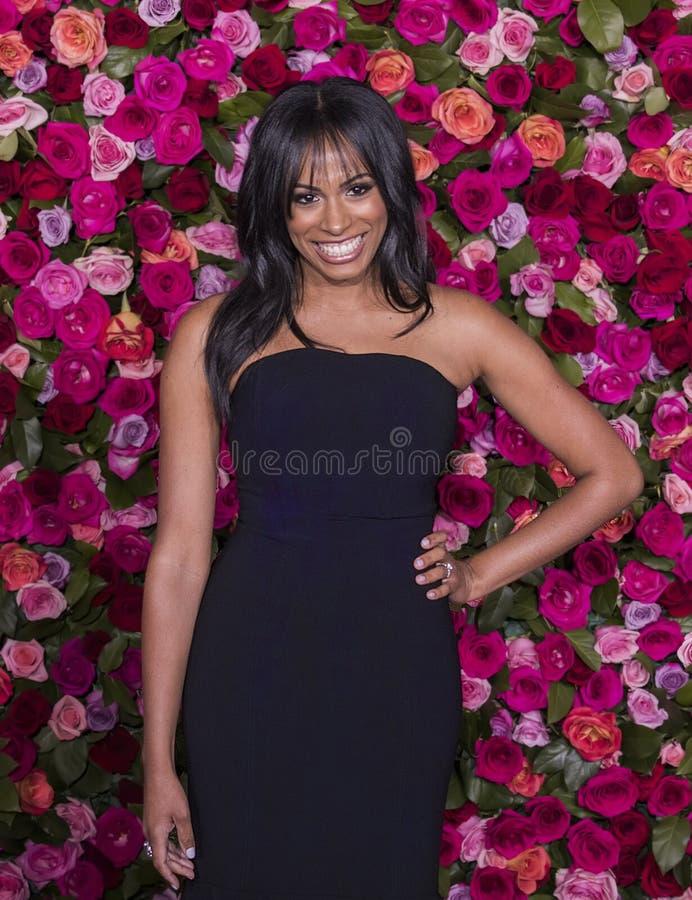 Nicolette Robinson chez Tony Awards 2018 photo stock
