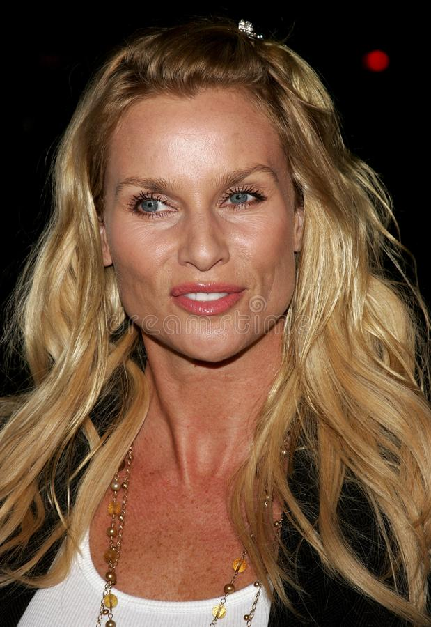 Nicollette Sheridan. BEVERLY HILLS, CALIFORNIA. Tuesday October 10, 2006. Nicolette Sheridan attends the World Premiere of `Running with Scissors` held at the royalty free stock images