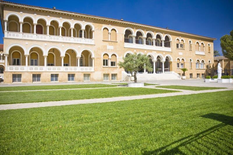 Nicosia, Cyprus. Archbishop Palace in Nicosia, Cyprus stock images