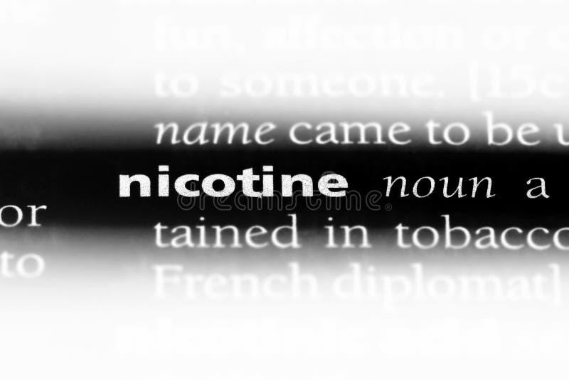 nicotina fotografie stock