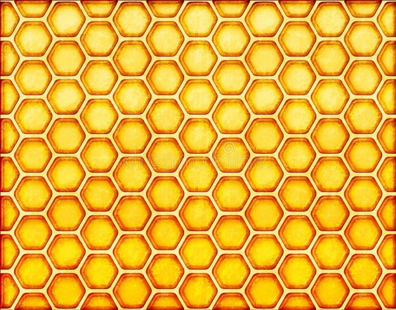 Nid d'abeilles illustration libre de droits