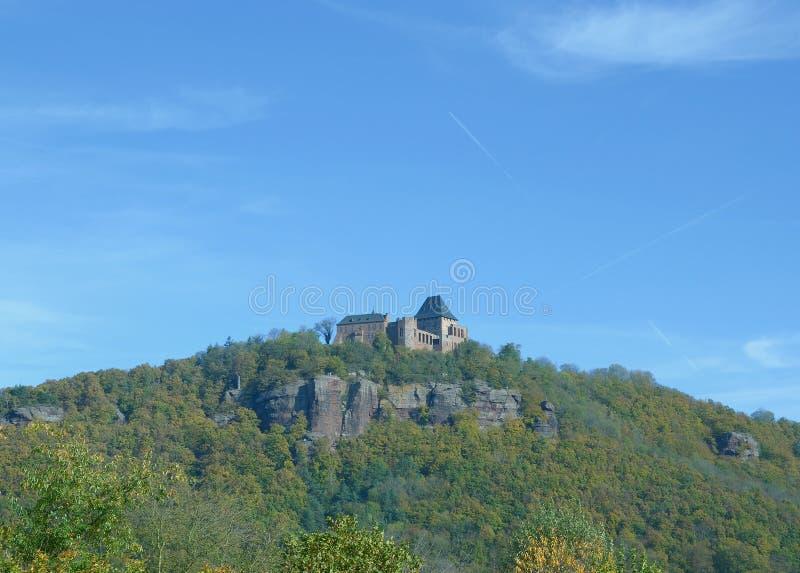 Nideggen, Eifel, Północny Rhine Westfalia, Niemcy obraz stock