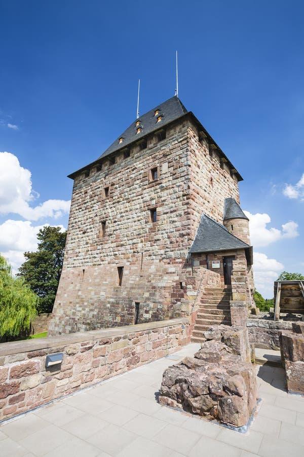 Nideggen kasztelu wierza w Niemcy, artykuł wstępny zdjęcie royalty free