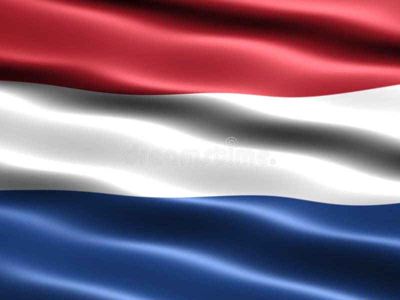 niderlandy podaje ilustracja wektor