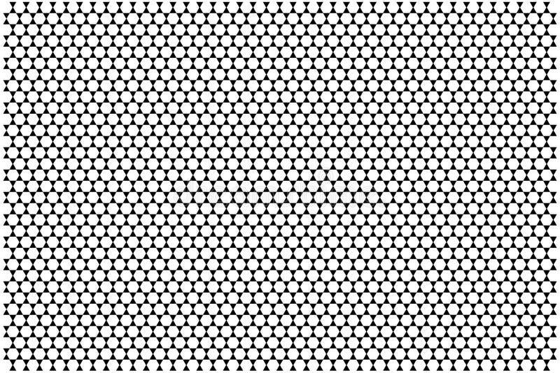 Nids d'abeilles des triangles géométriques de formes illustration stock