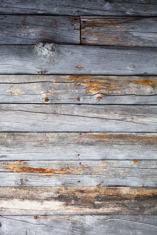 Nieżywa drewno ściana zdjęcia royalty free