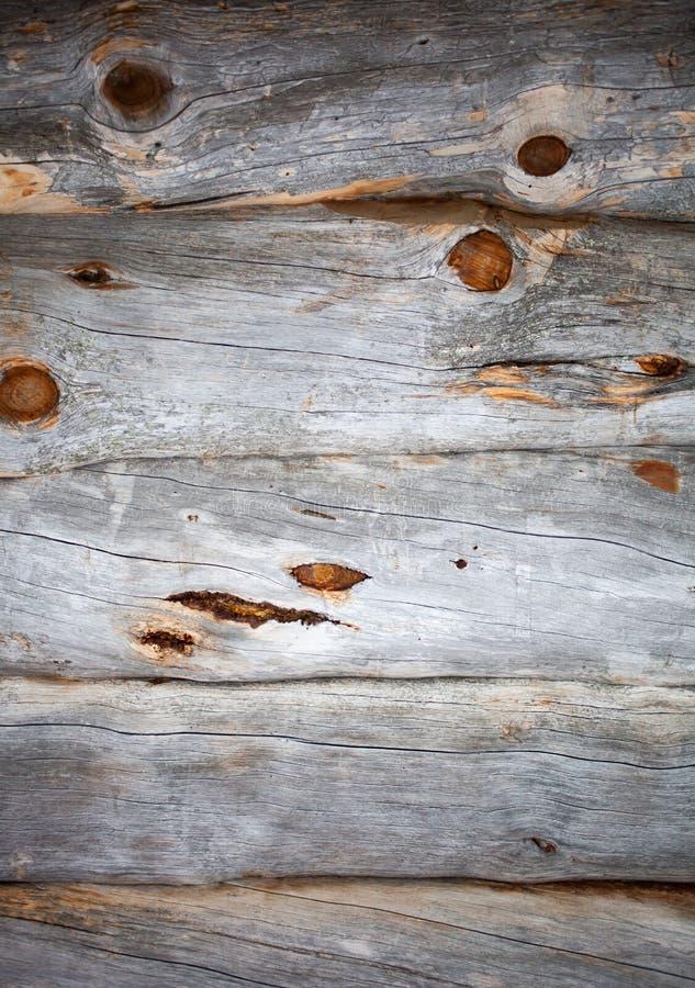 Nieżywa drewno ściana fotografia stock