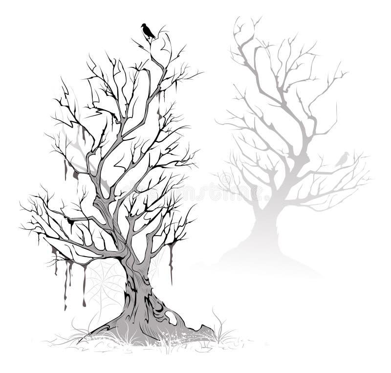 nieżywi drzewa ilustracji