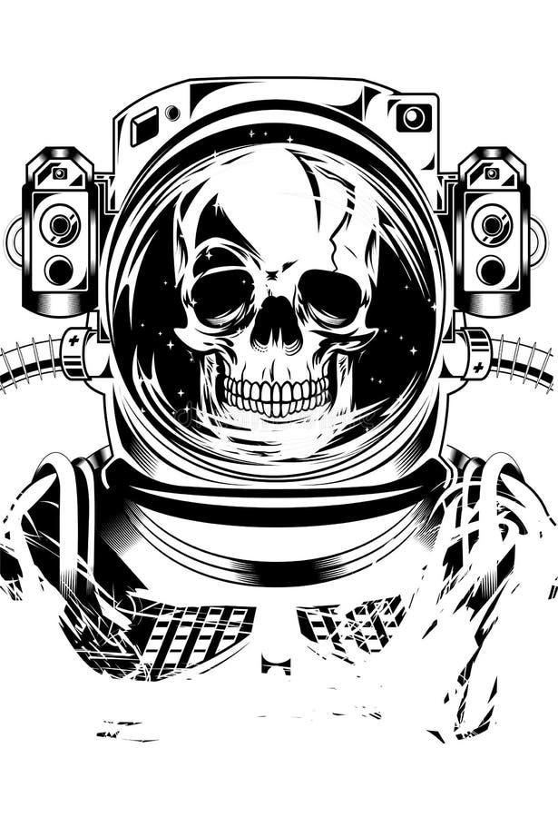Nieżywy Astronot obraz royalty free