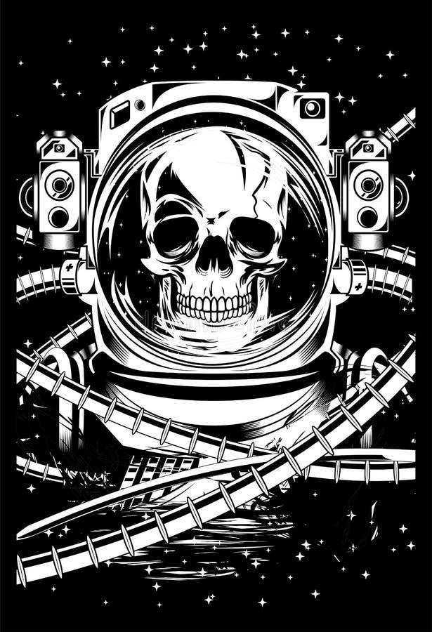 Nieżywy Astronot fotografia stock