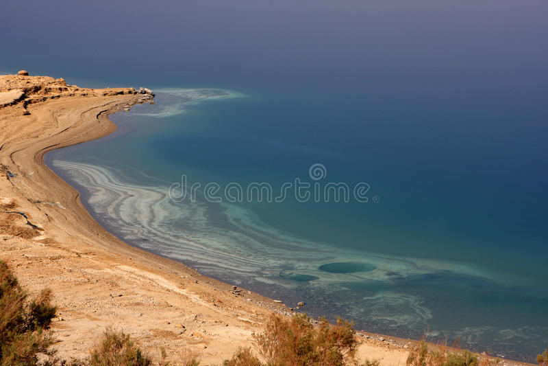 Nieżywy morze, Izrael obrazy stock