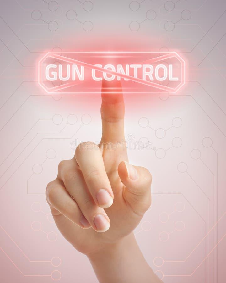 Nie kontrola broni palnej zdjęcia royalty free