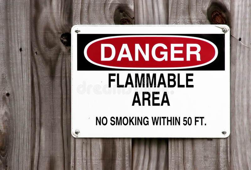Download Nie pal zagrożenia obraz stock. Obraz złożonej z toxic - 142151