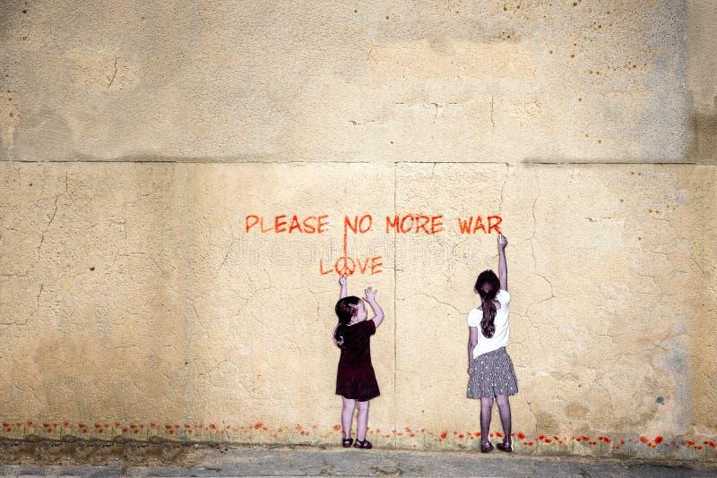 nie więcej wojna zdjęcia royalty free