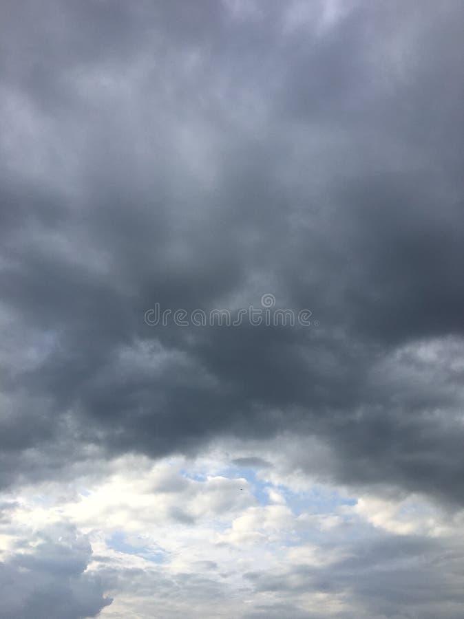 Nieba błękit fotografia stock