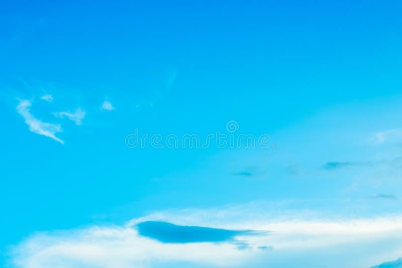 Nieba błękita tło zdjęcia stock