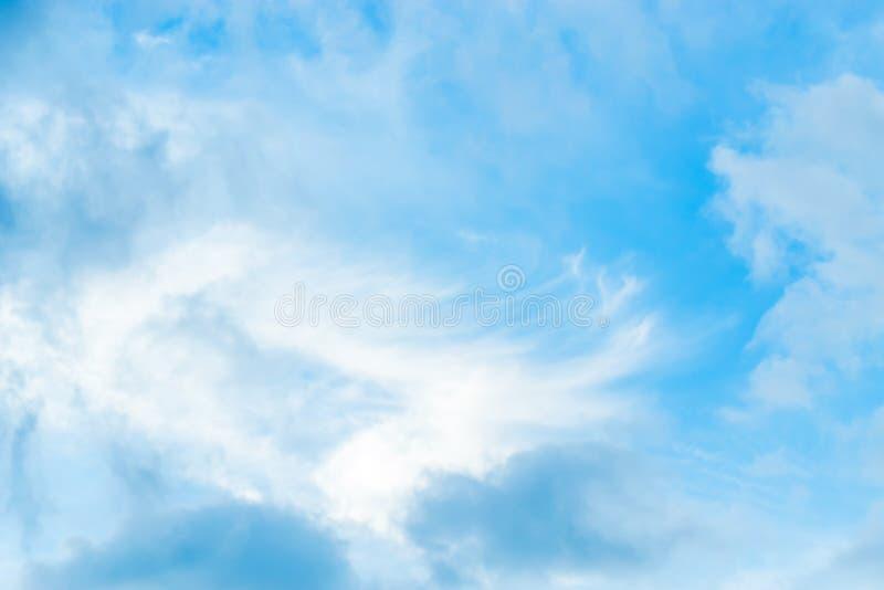 Nieba błękita tło zdjęcie stock