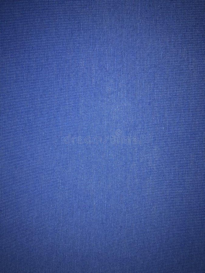Nieba błękita tkaniny powierzchnia obraz stock