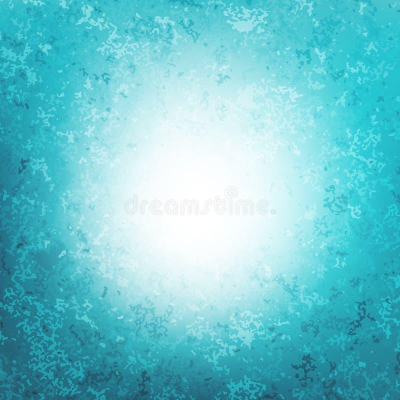 Nieba błękita wektoru tło Gradientowa pełnia struktura abstrakcyjna ilustracja wektor