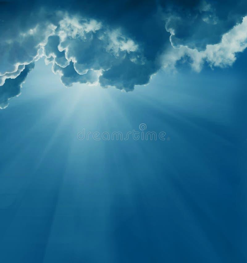 nieba ciemny słońce zdjęcia stock