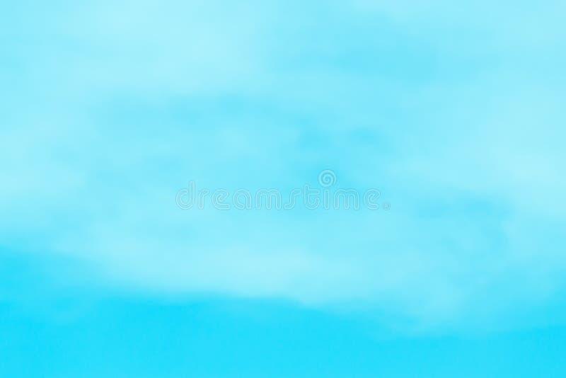 Nieba denny jaskrawy popołudnie obraz stock