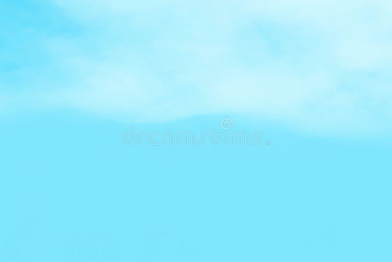 Nieba denny jaskrawy popołudnie zdjęcie stock