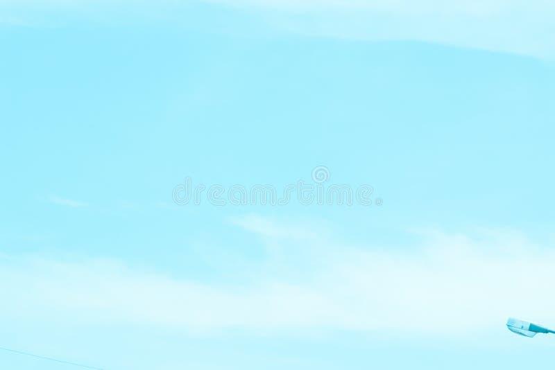 Nieba denny jaskrawy popołudnie fotografia stock