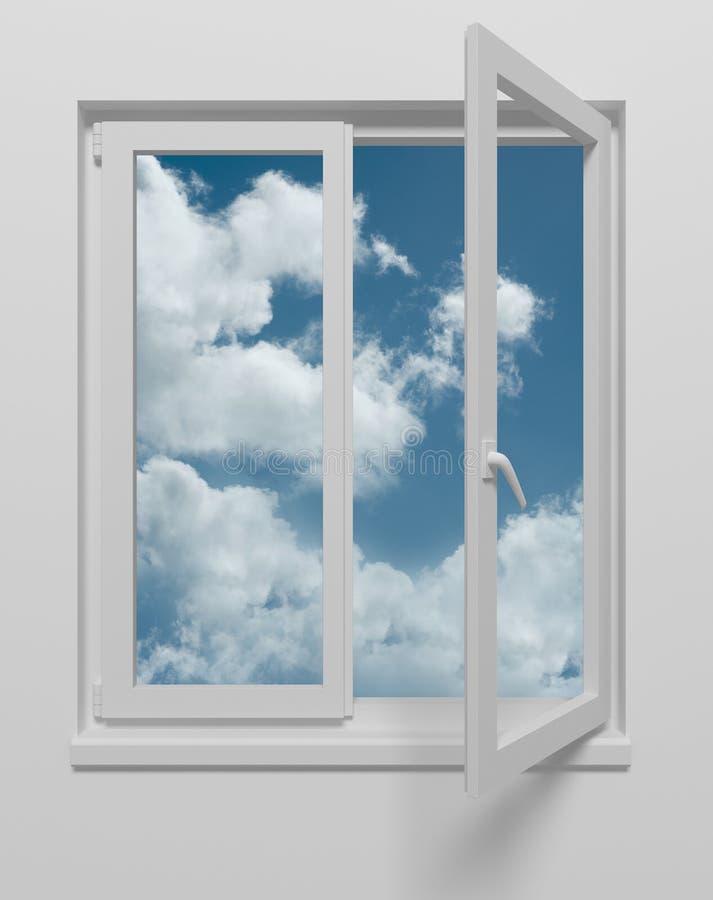 nieba okno zdjęcie royalty free