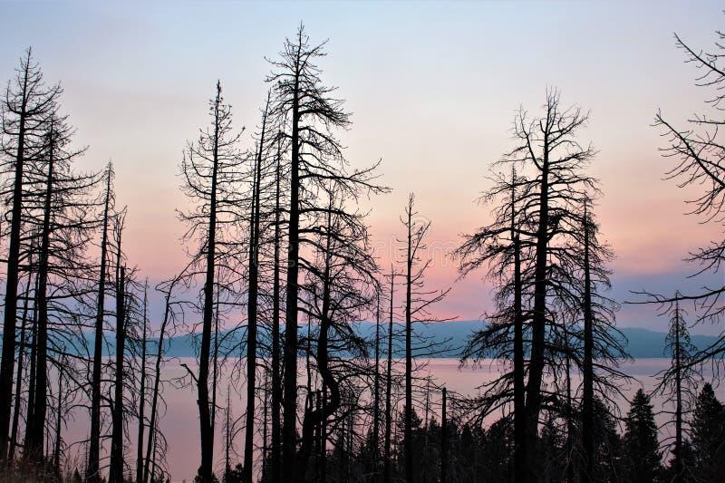 Nieba ` ranku rumieniec zdjęcie stock