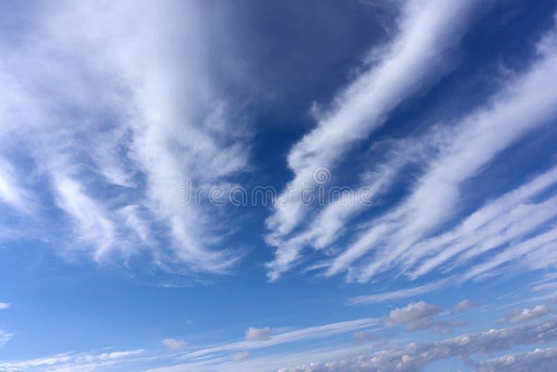 Nieba tło na zmierzch natury składu brzeg klimacie zdjęcia stock