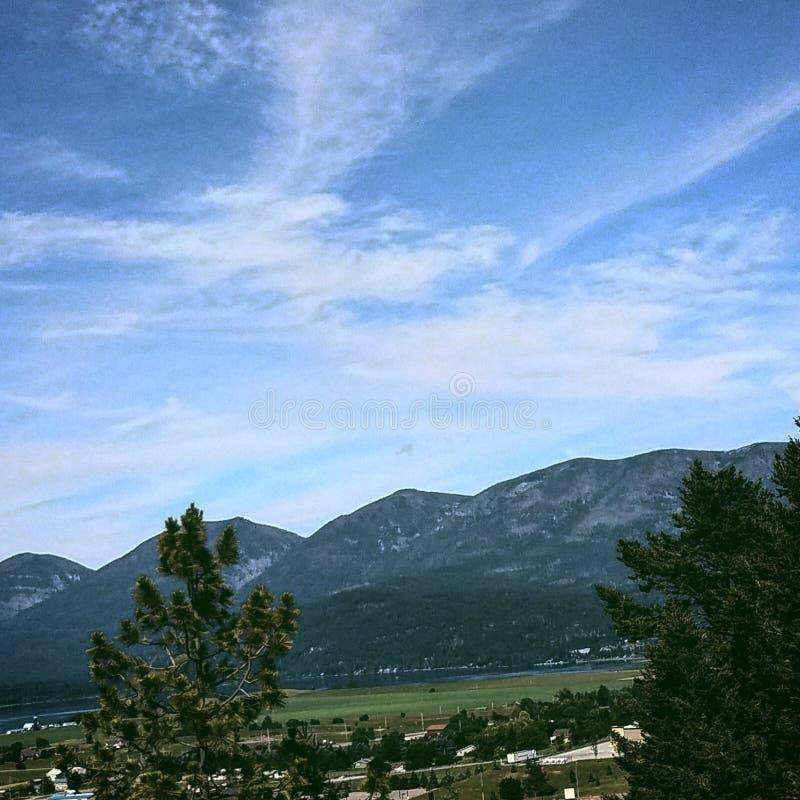 Nieba W Montana obraz stock