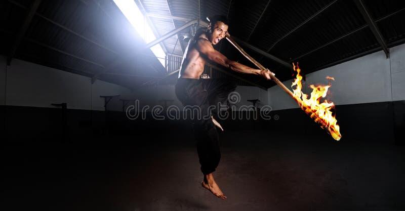 niebezpieczeństwa fu kung obrazy stock