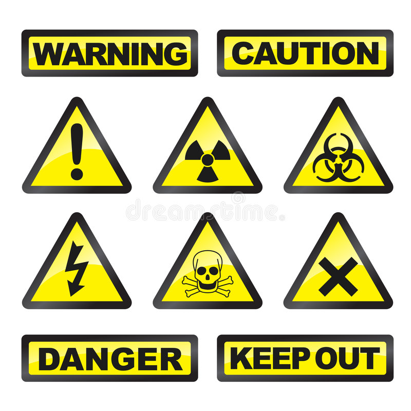 niebezpieczeństwo sygnały
