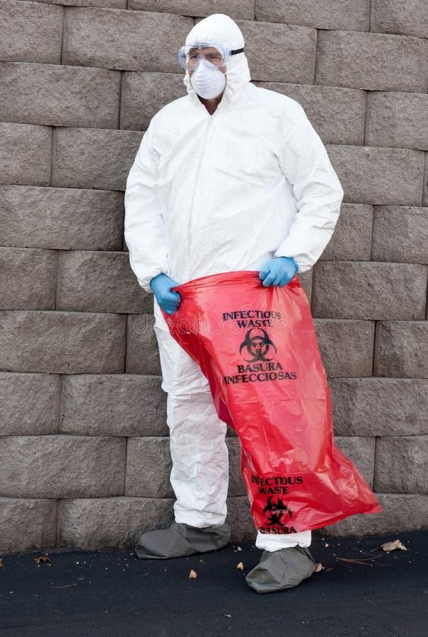 niebezpieczni odpady zdjęcia royalty free