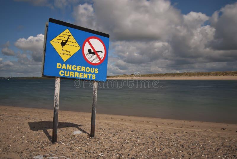 Niebezpieczny prądu znak