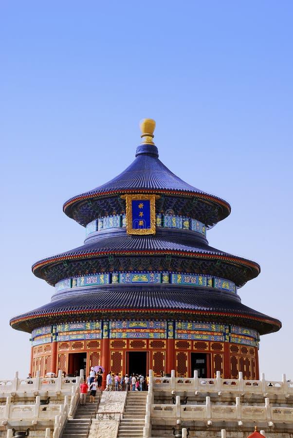 niebiańska świątynia zdjęcie royalty free