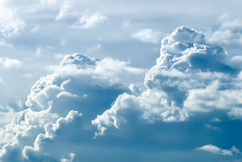 niebiańska góra 1 zdjęcia royalty free