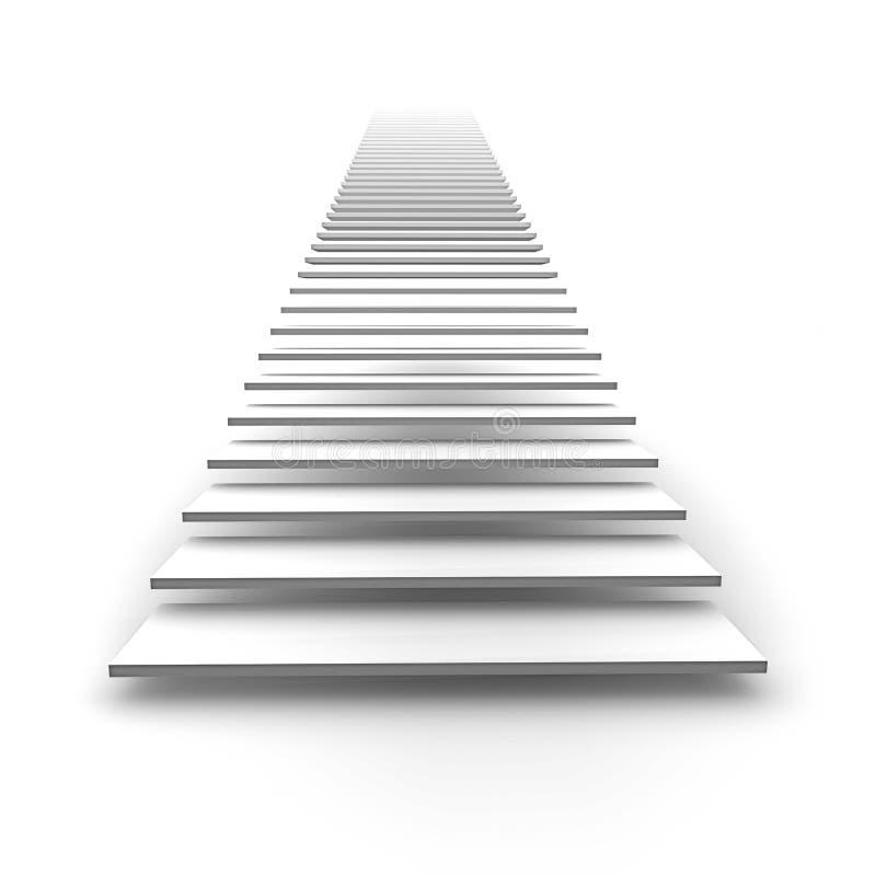 niebiański schody ilustracji