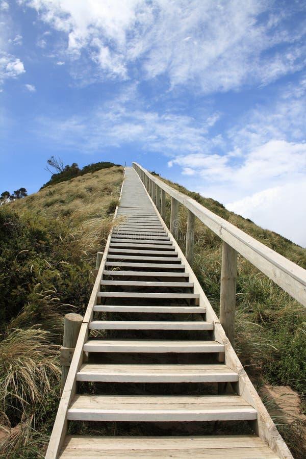 niebiański schody obraz stock