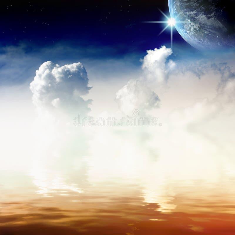 niebiański widok zdjęcie stock