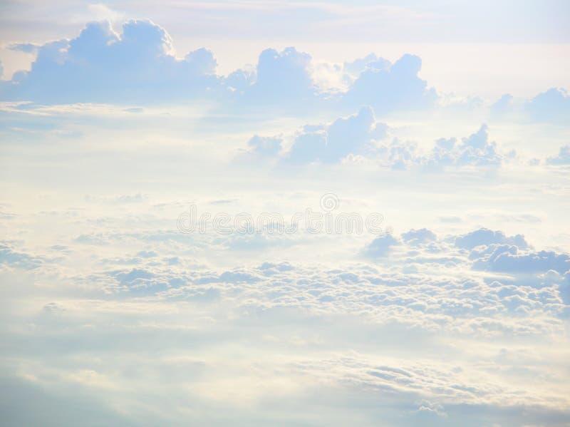niebiańskie chmury obraz royalty free