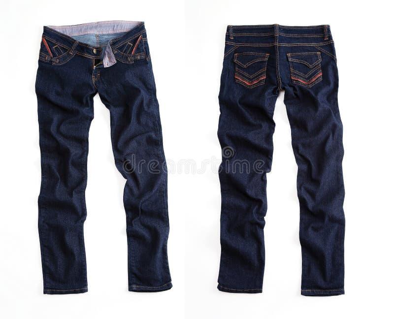 Niebiescy dżinsy trouser zdjęcia royalty free