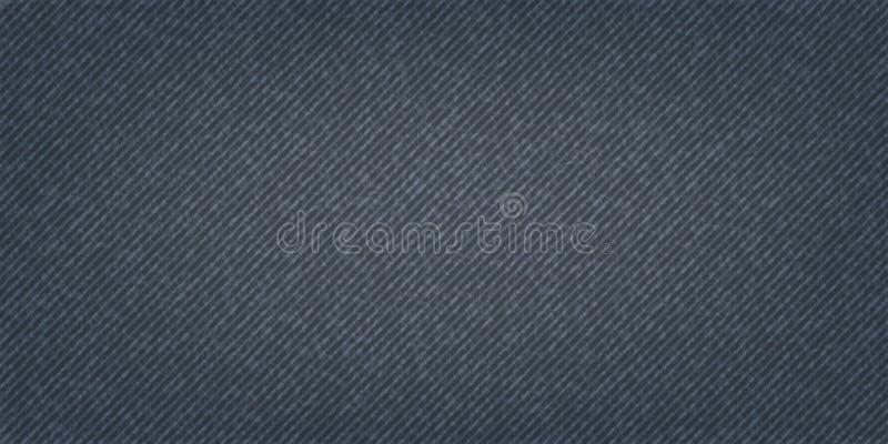 Niebiescy d?insy tekstury t?o Drelichowa tkanina ilustracji