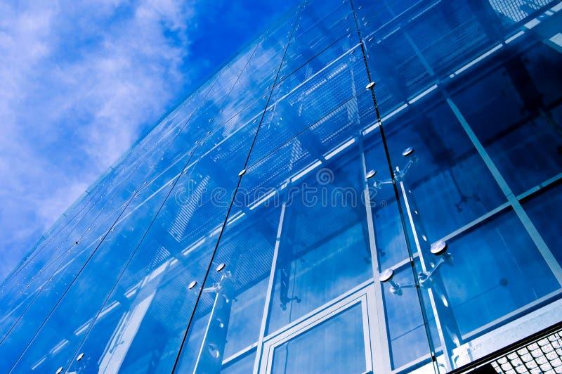 niebieska 2 miejskiego głęboko zdjęcia royalty free