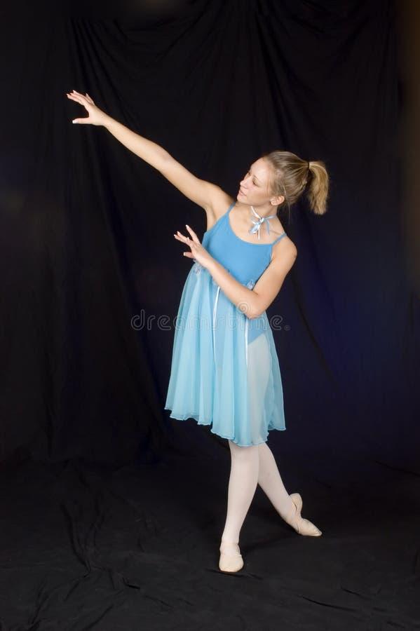 niebieska baletnice obraz royalty free