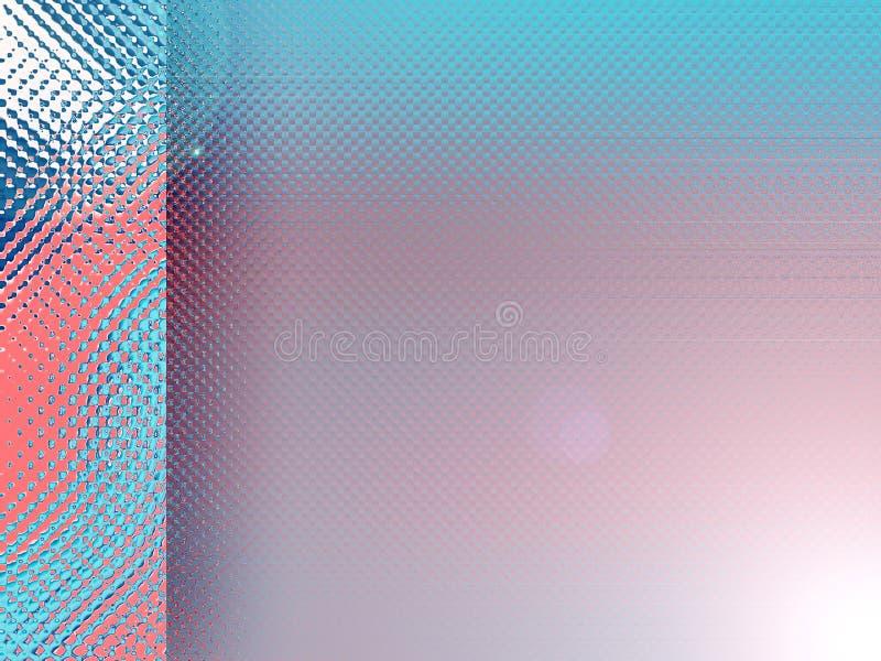 Niebieska Czerwone Tło Obraz Stock